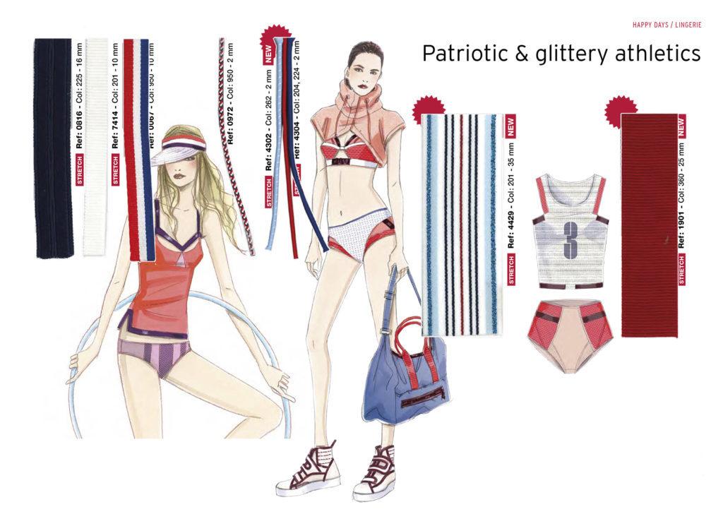Thème Happy Days - Patriotic&Glittery athletics